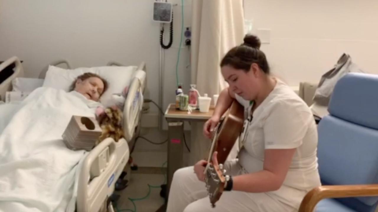 Medina nurse performs song