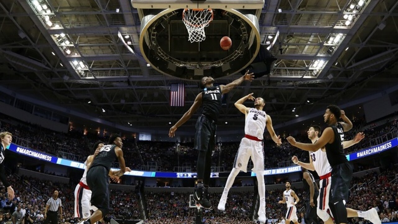 Xavier falls to Gonzaga 83-59, Gonzaga advances to first Final Four