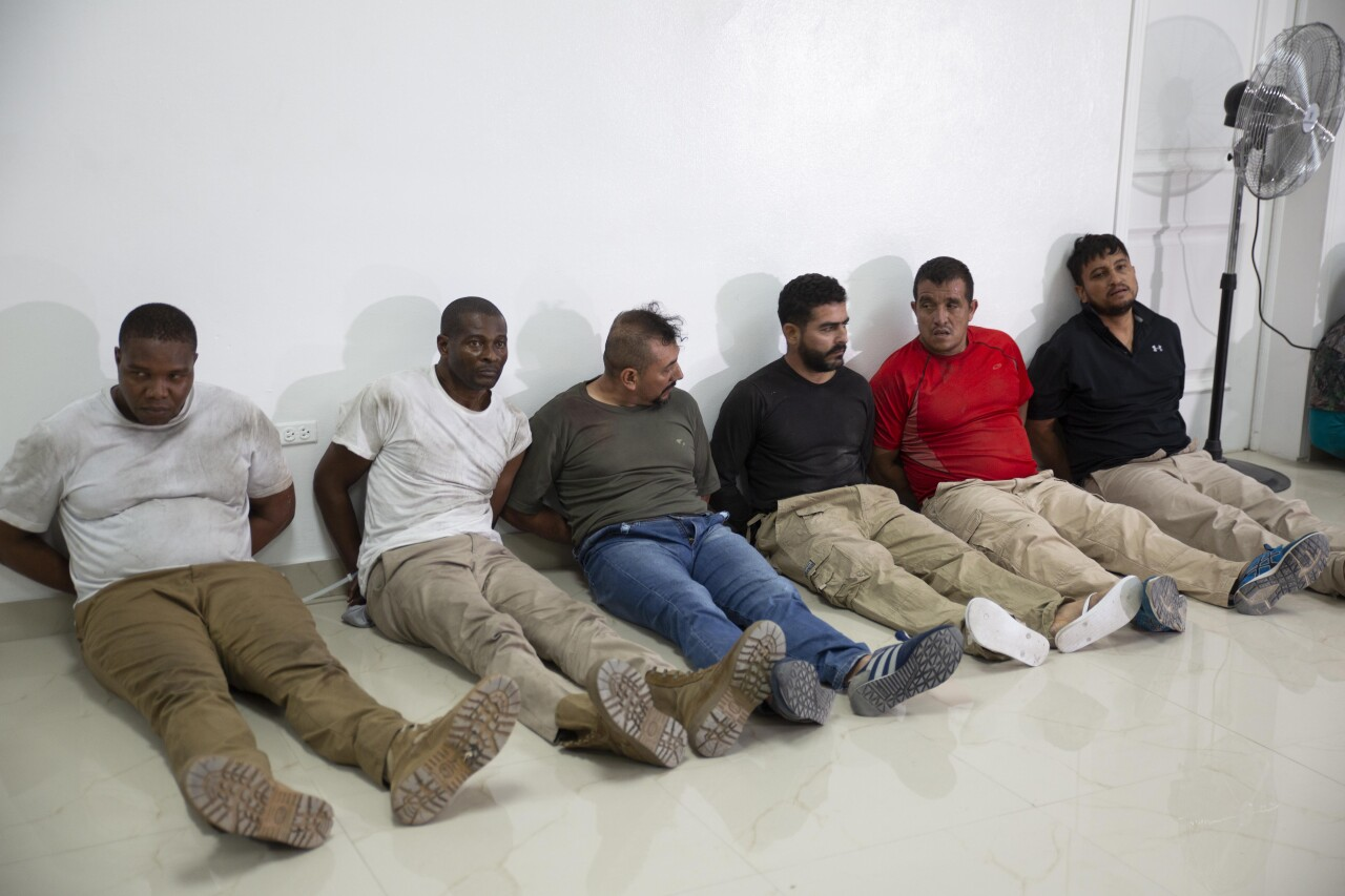 James Solages, Joseph Vincent and other suspects in assassination of Haitian president
