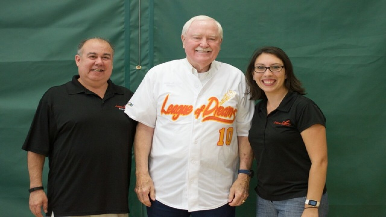Mayor Hall honored by League of Dreams