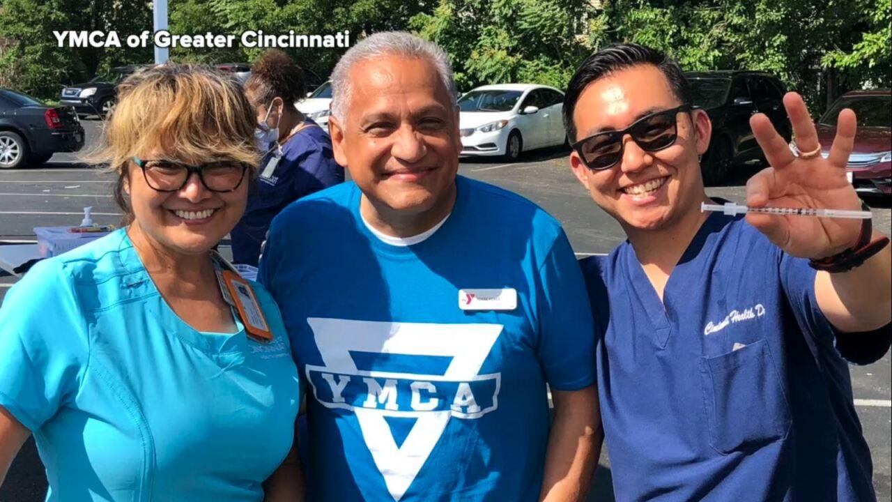 YMCA health fair vaccines