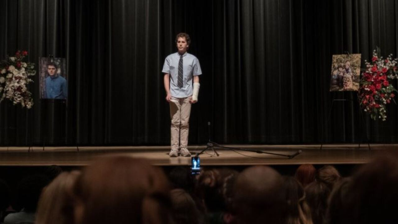 """""""Dear Evan Hansen"""" debuts in theaters Sept. 24. Photo courtesy Universal Pictures."""
