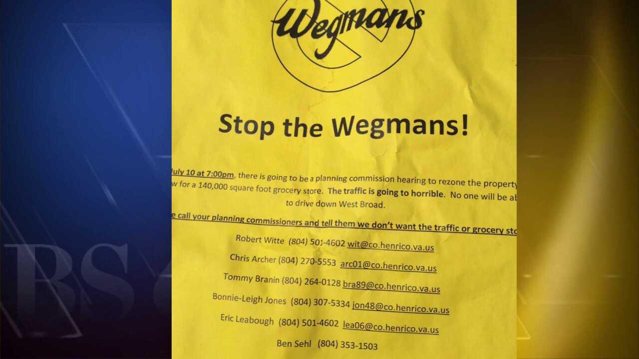 'Stop Wegmans' campaign raises eyebrows inHenrico
