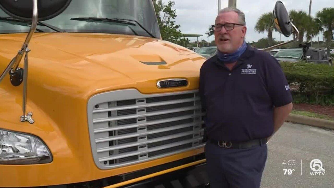Rob Thomson, Jupiter High School ESE bus donor