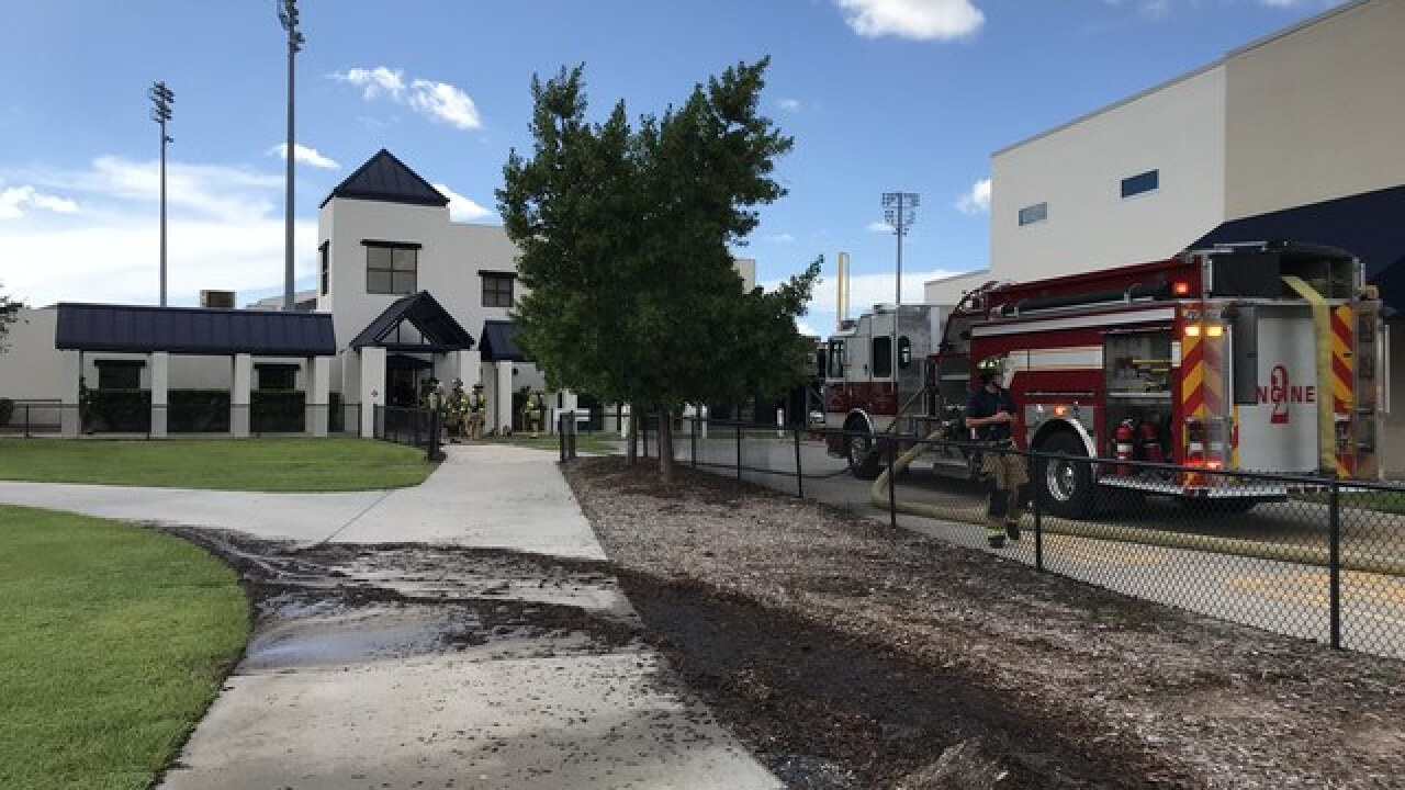 Fire investigation at Charlotte Co. Sports Park