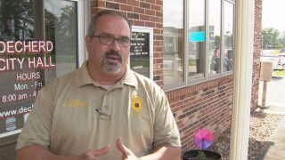 Decherd Police Chief Ross Peterson
