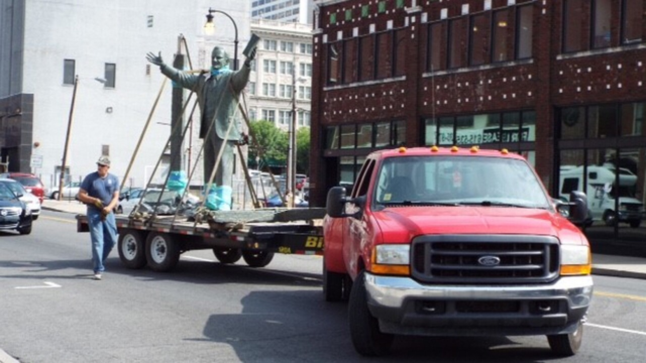 Billy Graham Statue Removed From Downtown