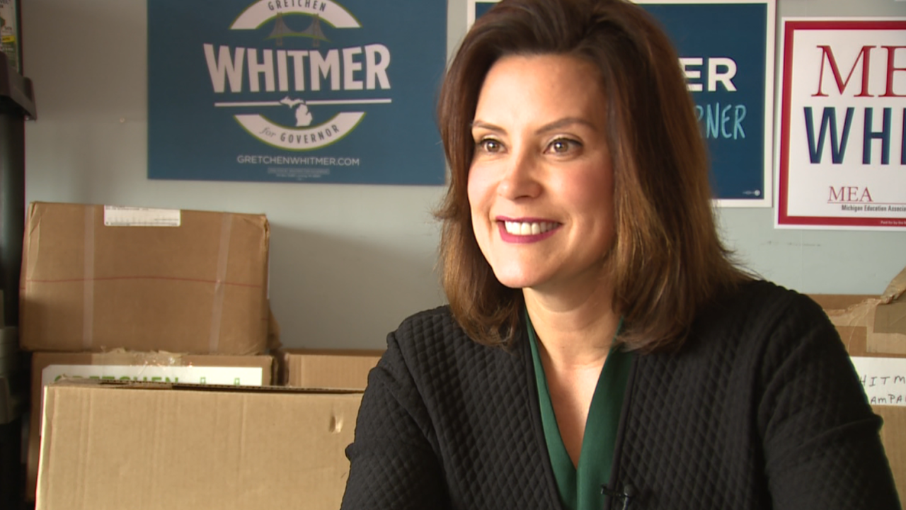 Get to know the candidates: Gretchen Whitmer