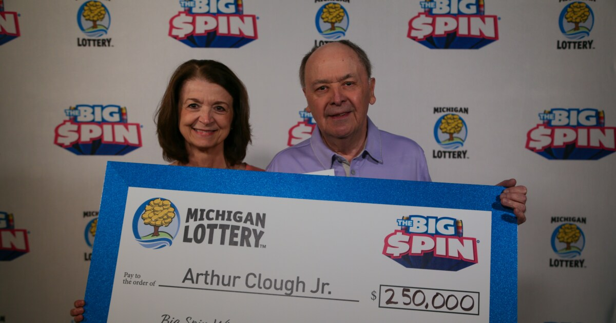 Oakland Co. man wins $250K on lottery show, says he'll spend it on wife