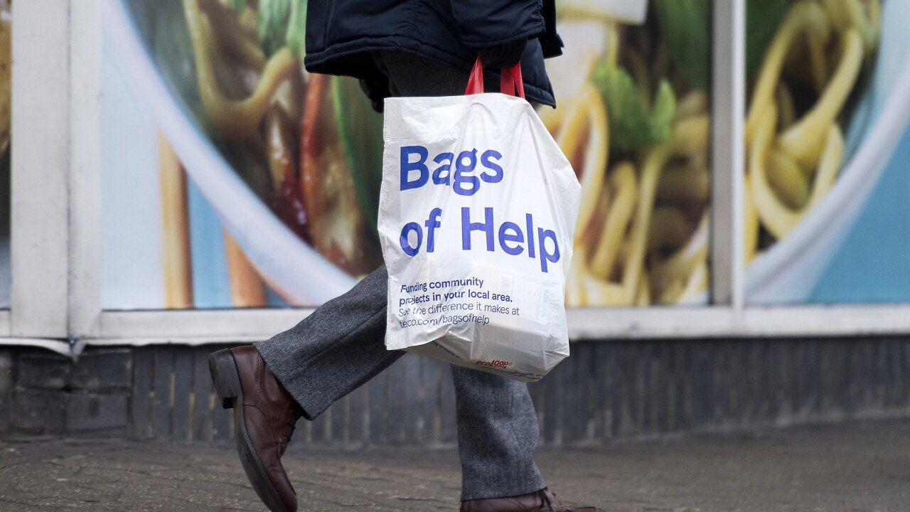1.5 billion 'bags for life' add to growing plastic waste in the UK