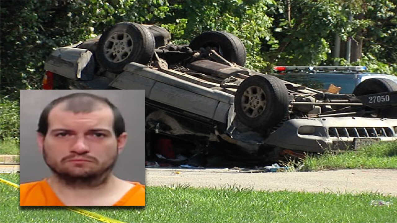 Man accused of killing woman after crash ID'd