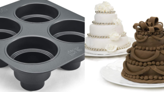You Can Make Adorable Tiny Layer Cakes With This Pan
