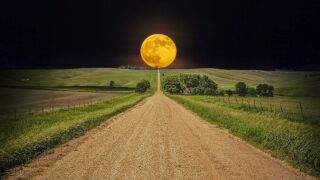 The Harvest Moon (Photo Credit Maryland Ag)