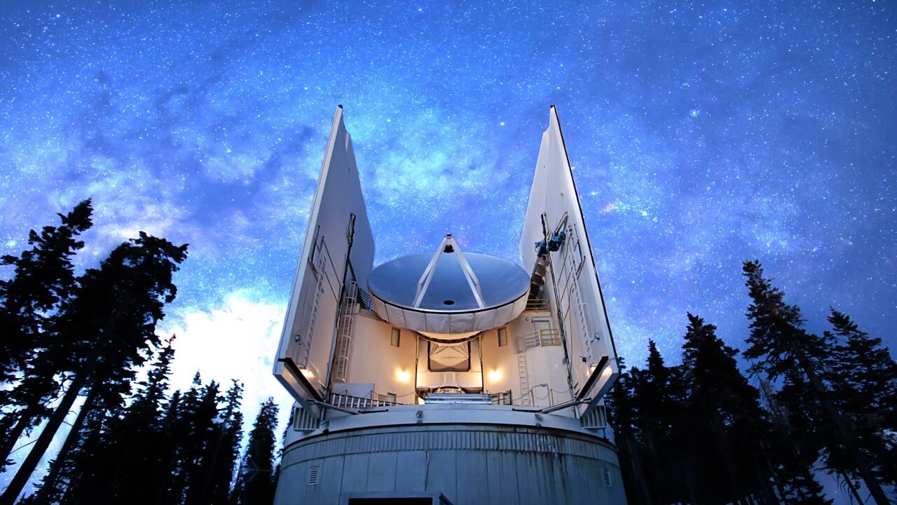 Mt graham Submillimeter telescope.jpg