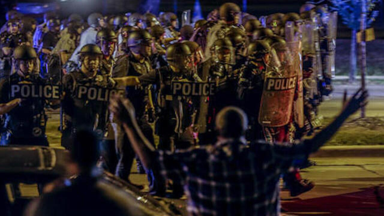 One person shot in Milwaukee during protest