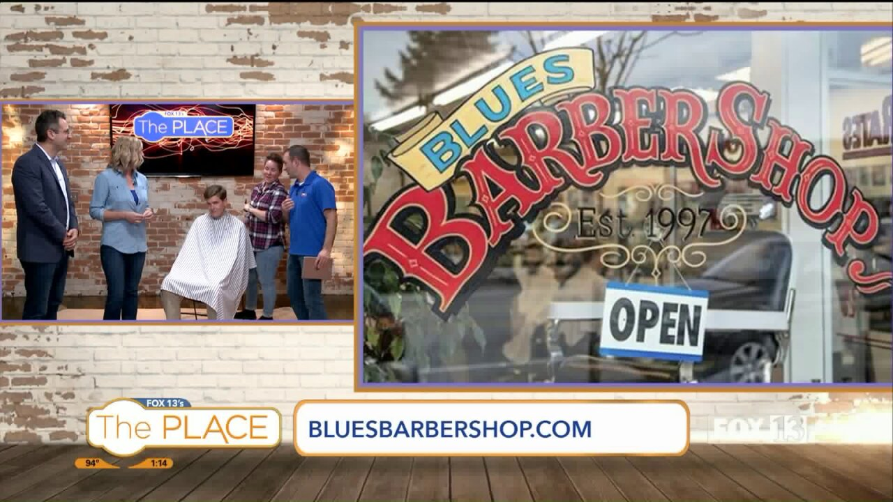Get a great haircut, shave and sing the blues!
