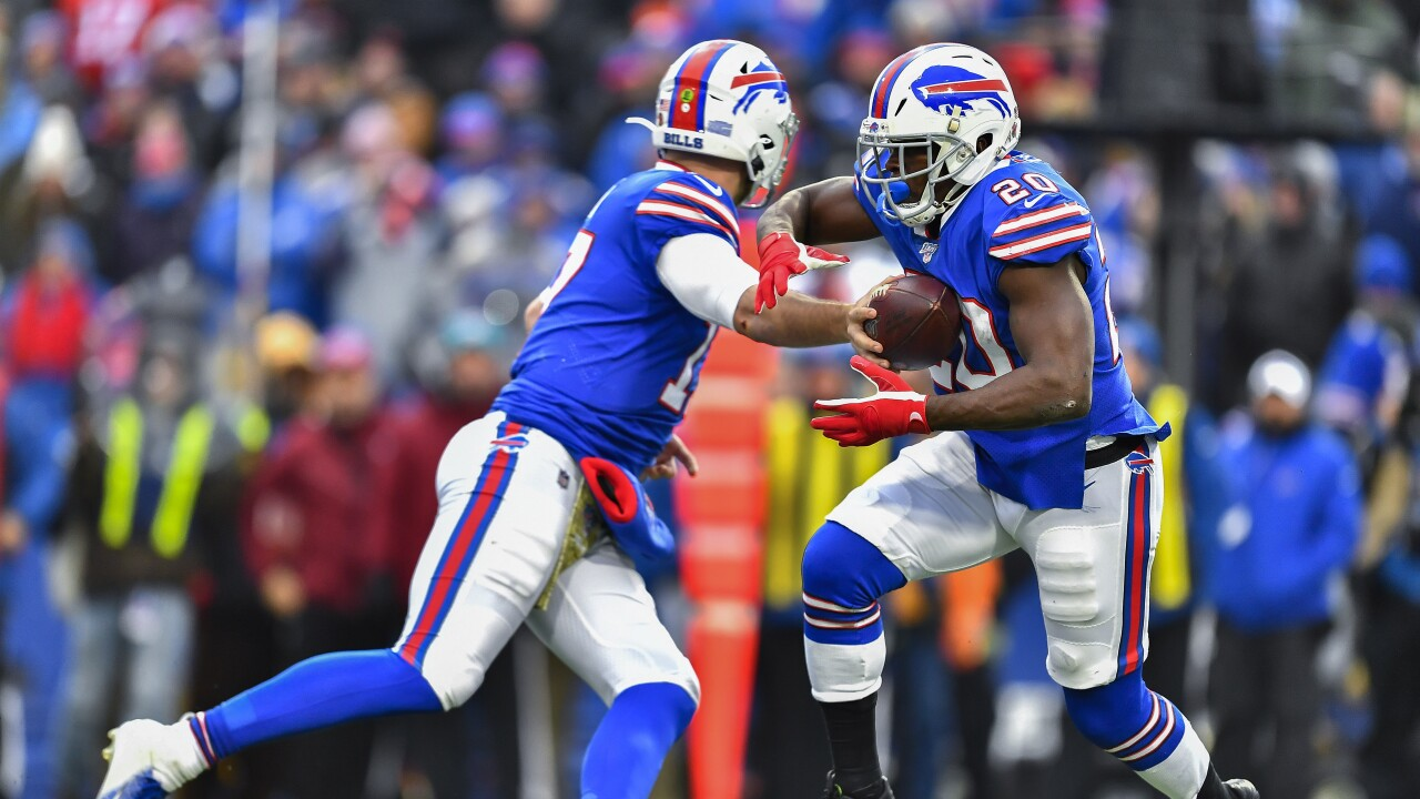 Gore paving the way for Singletary in the Bills backfield