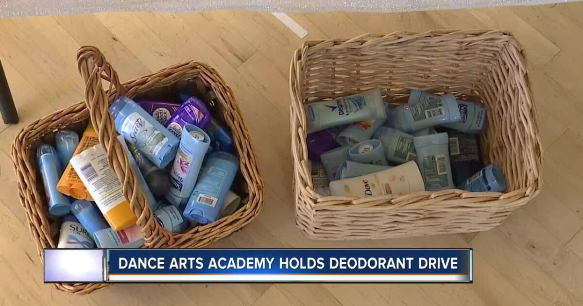Dance Arts Academy holds deodorant drive