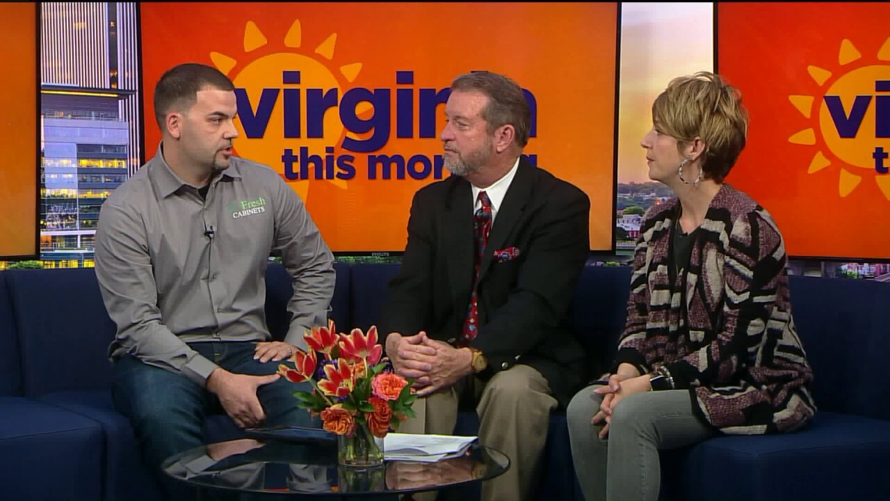 Re:Fresh Cabinets at the Virginia HomeShow