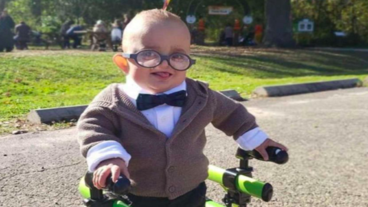 This 2-Year-Old Boy With Cerebral Palsy Celebrated Halloween With An Amazing 'Up' Costume