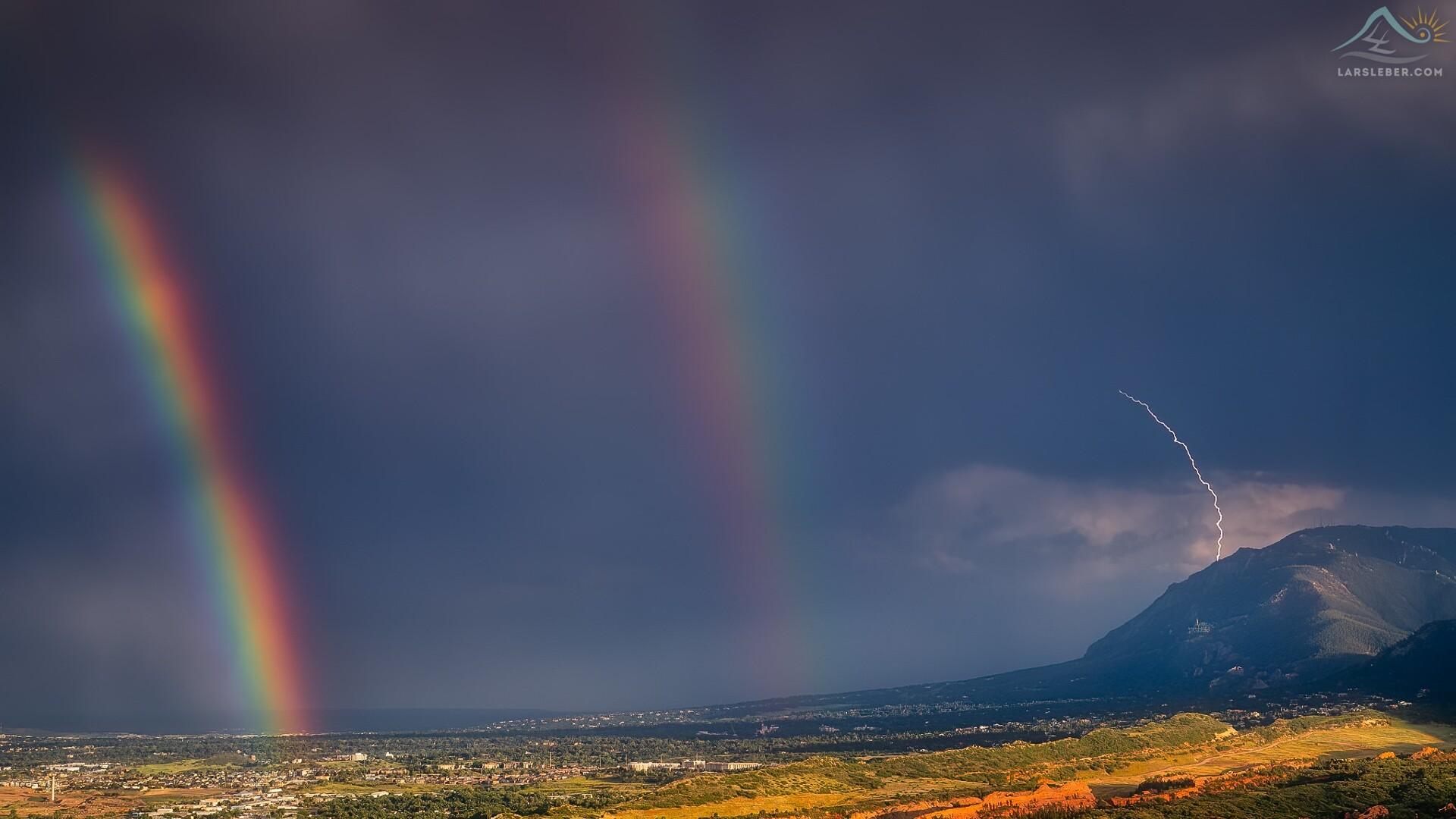 Colorado Springs Double Rainbow Lars Leber Photography.jpg