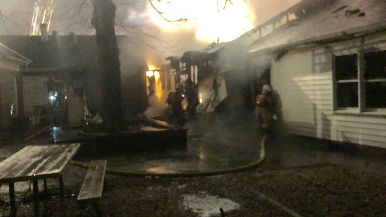 Two Alarm Fire at Swim Club and Daycare in Rockville