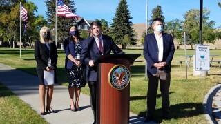 VA Secretary Robert Wilkie tours Montana VA, praises work of staff