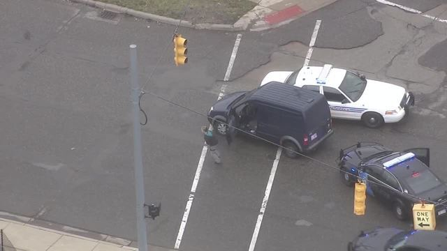 PHOTOS: Female driver arrested after leading police on high-speed chase
