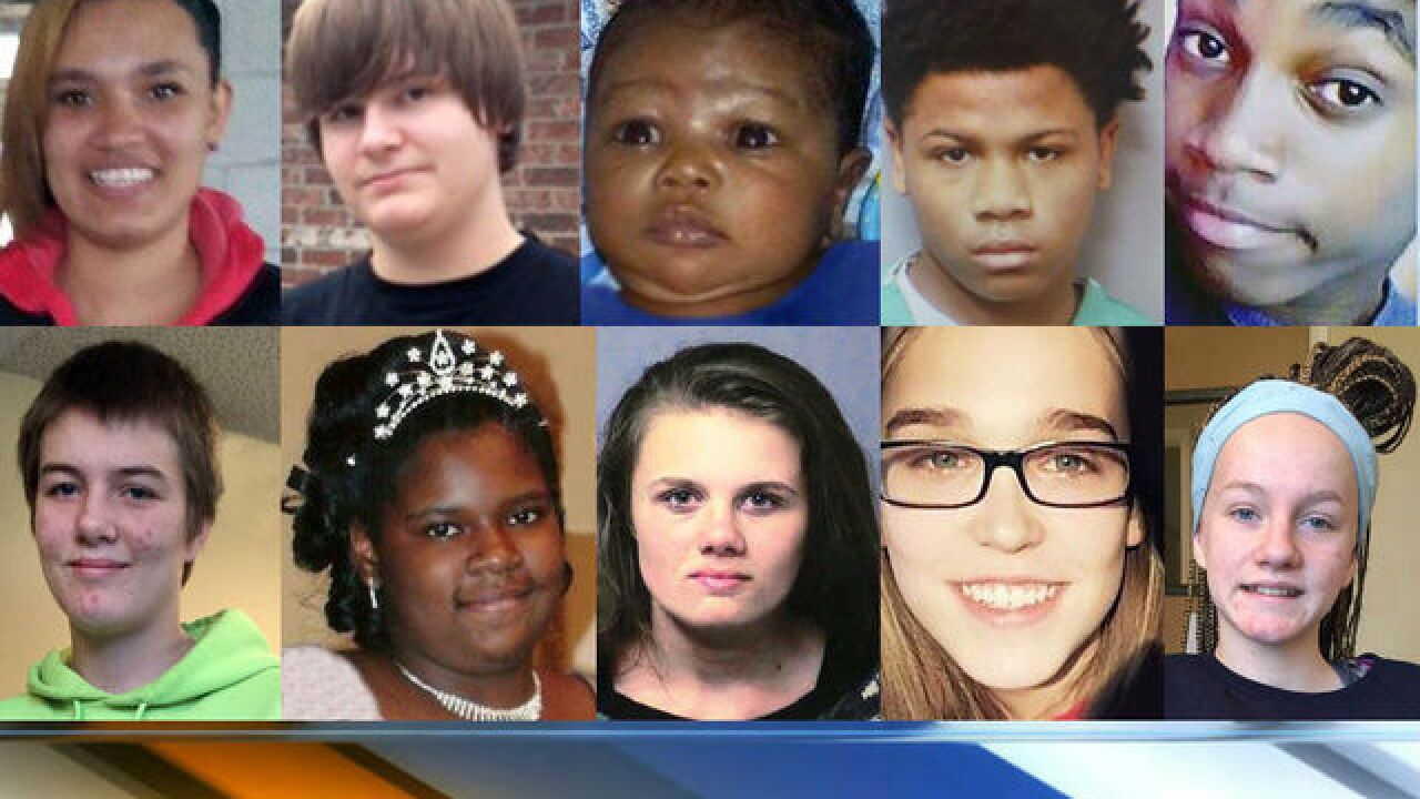 Have you seen these missing Indianapolis kids?