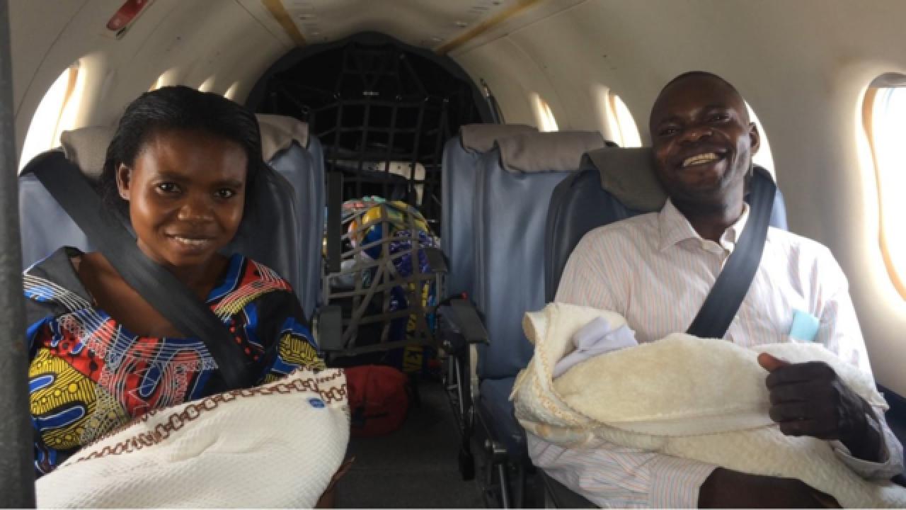 Nampa's MAF pilots help twins survive