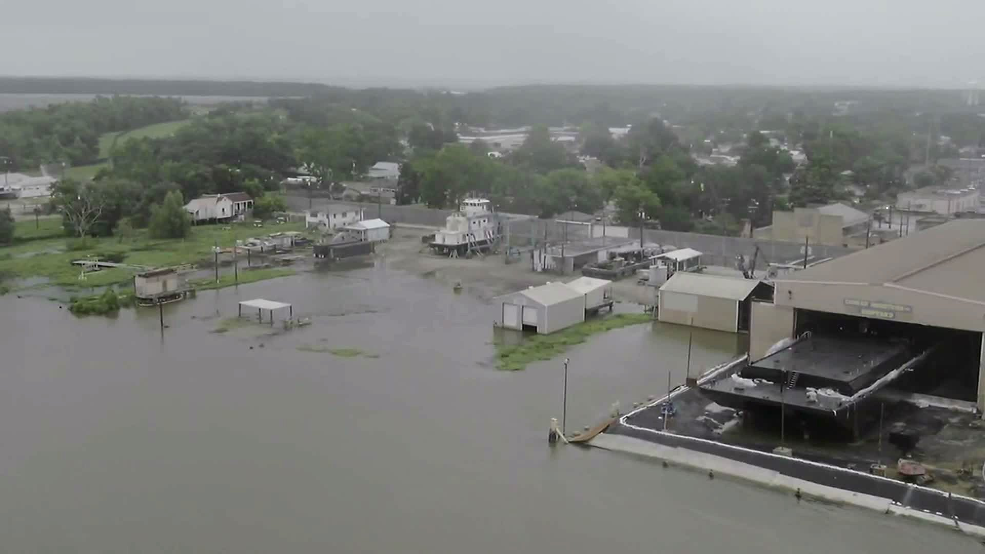 PHOTOS: Barry brings heavy rainfall, floods to Louisiana