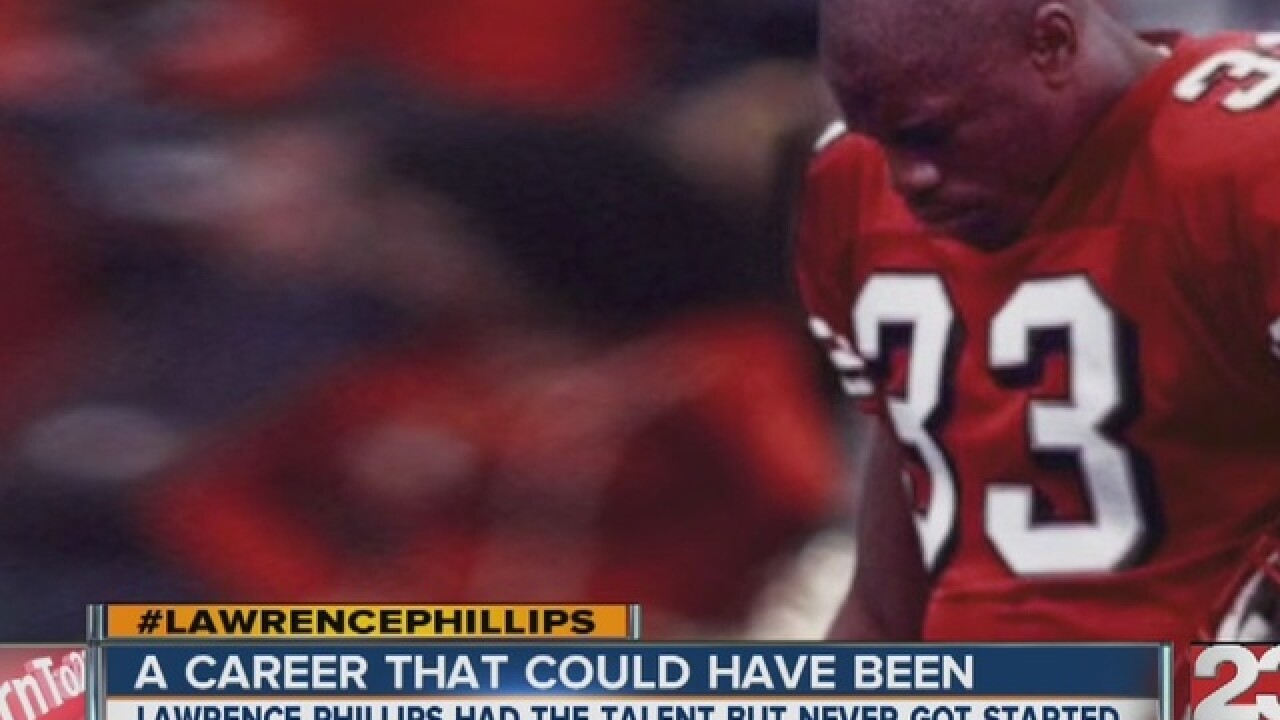 Lawrence Phillips: a story of untapped potential