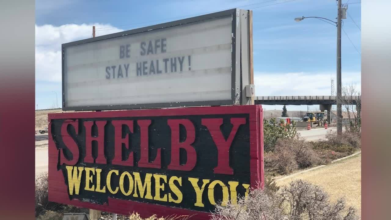 """Shelby, Montana welcomes you"""