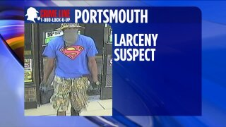 Surveillance video shows suspect taking cash drawer from Portsmouth 7-Eleven