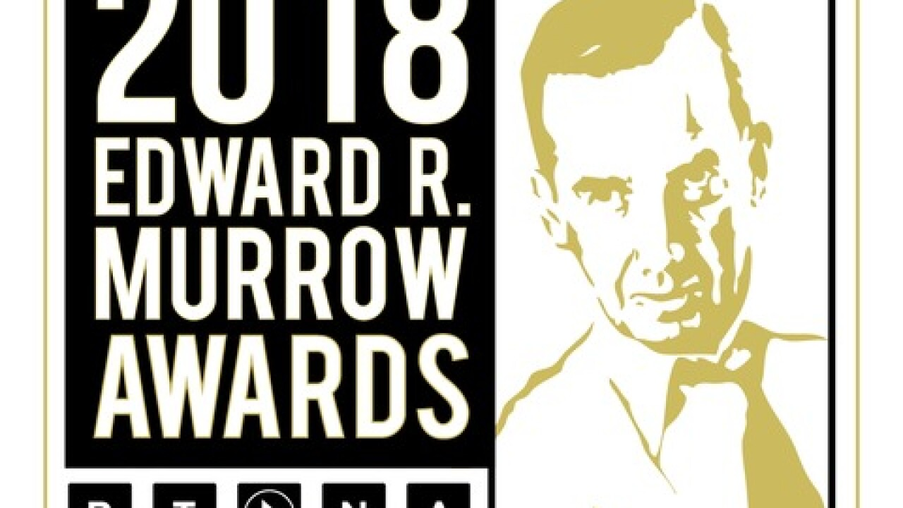 WKBW wins regional Edward R. Murrow Award for Investigative Reporting