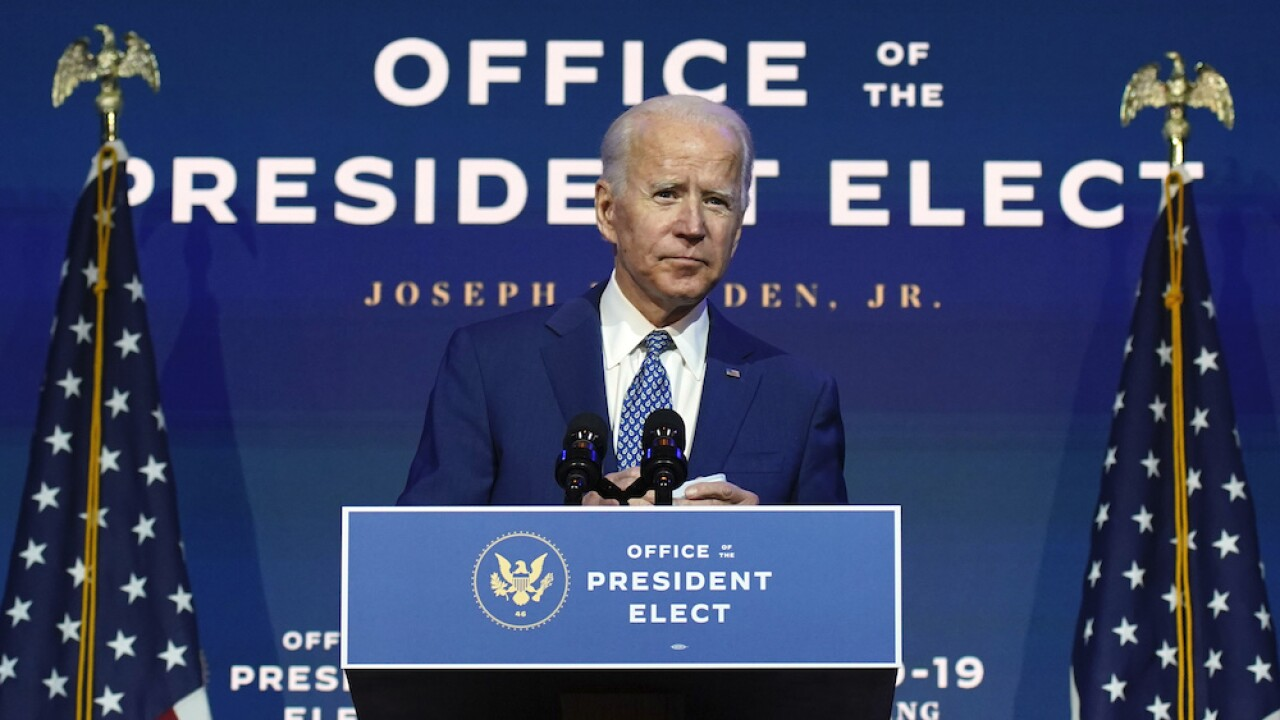 Biden says his family following Thanksgiving guidance, will hold socially distanced gathering