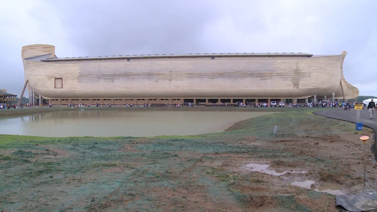 Noah's Ark replica owners file lawsuit over rain damage