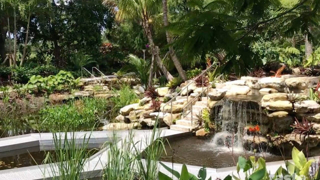 The best place to give yourself an attitude adjustment is at the Mounts Botanical Garden