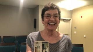 Esther Redelsheimer moon landing memory