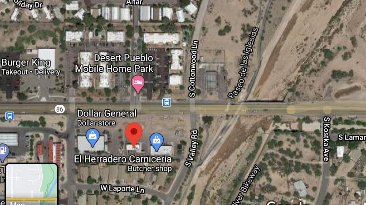 Tucson police investigated a deadly hit-and-run wreck on Ajo Way Monday.