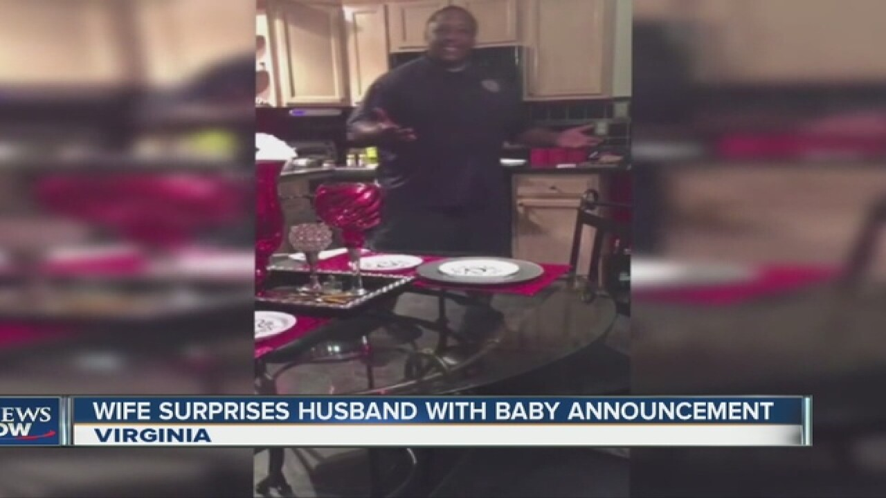 MUST SEE: After 17 years, he's going to be a Dad