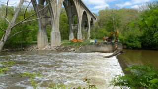 Brecksville dam