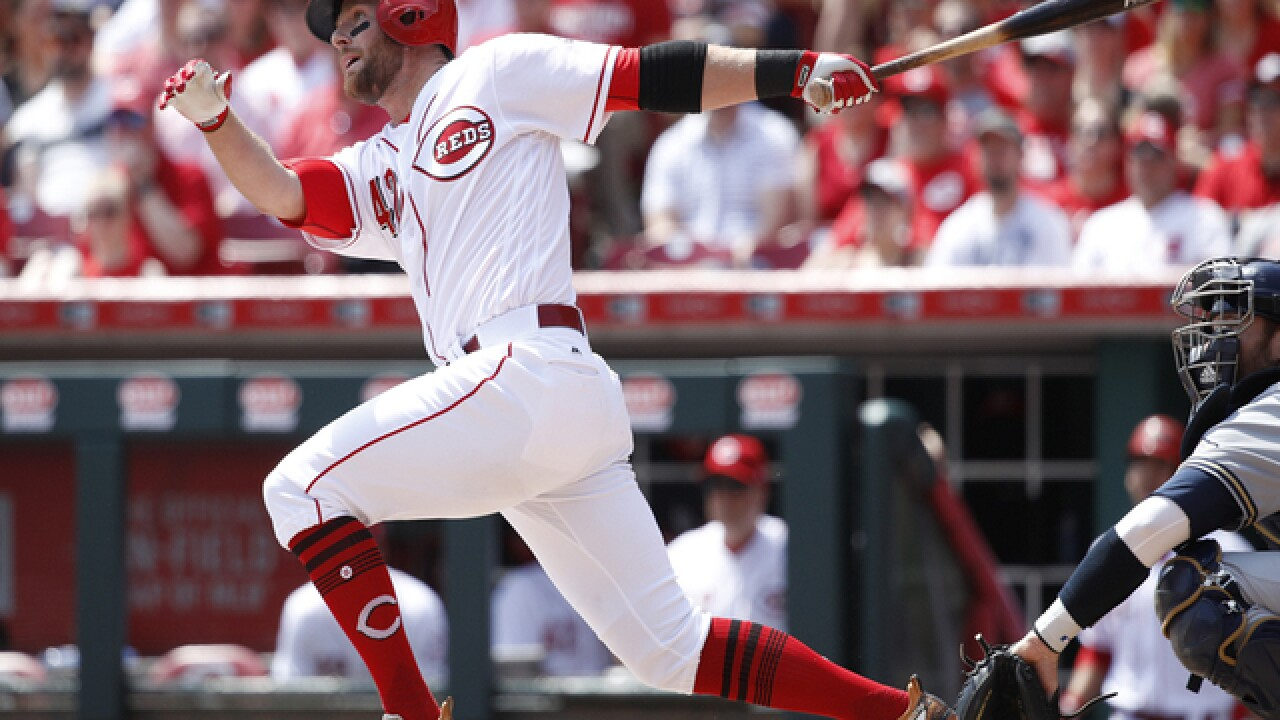 Fay: Reds bullpen allows for a 7-5 comeback over Milwaukee Brewers
