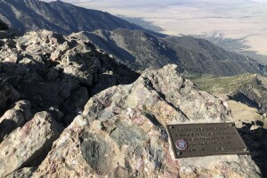 Challenger Point Peak plaque.jpg