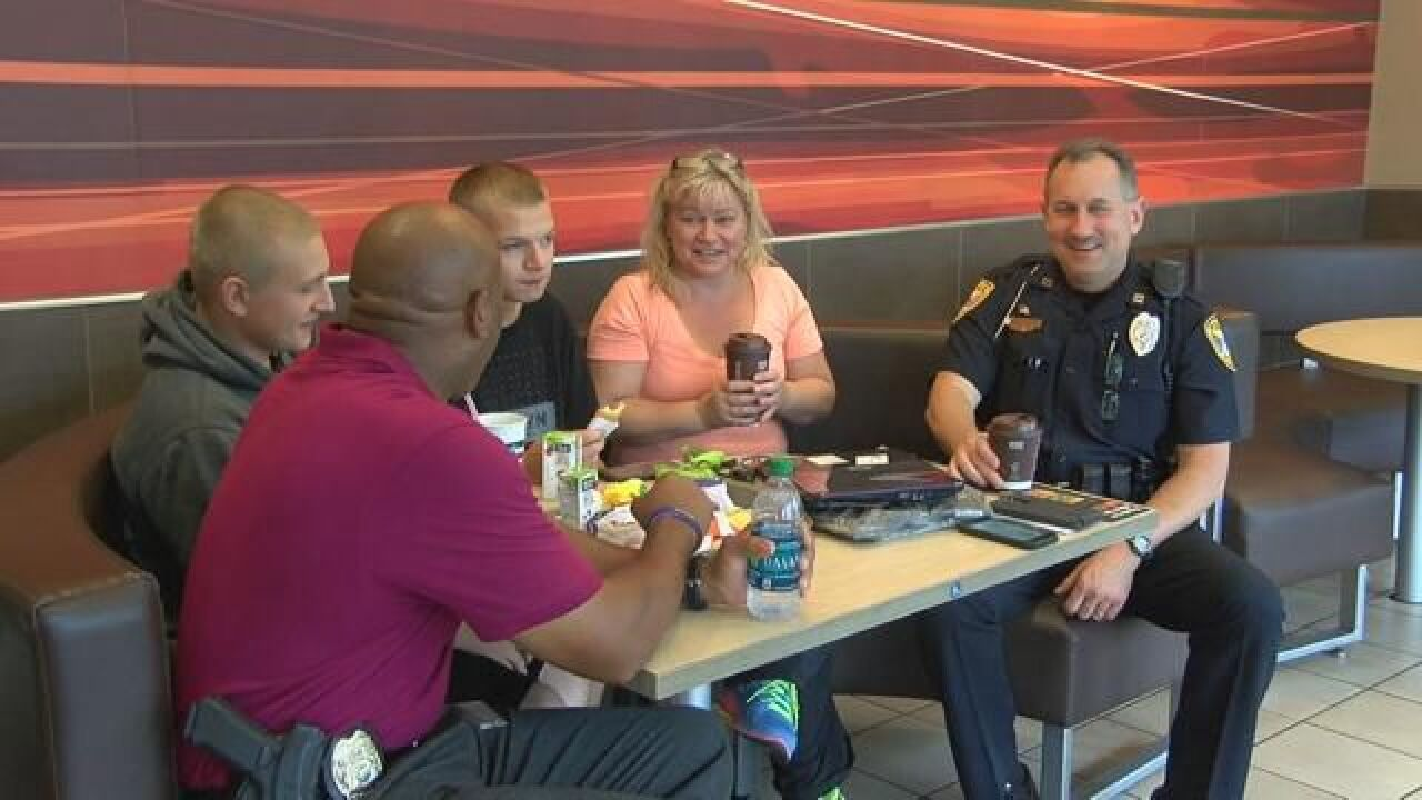Deputies and Officers Reach Out to the Community Over Coffee