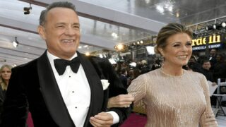 Tom Hanks Did Pushups On The Oscars Red Carpet With A U.S. Army Staff Sergeant