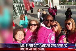Male breast cancer survivor urges awareness, early detection
