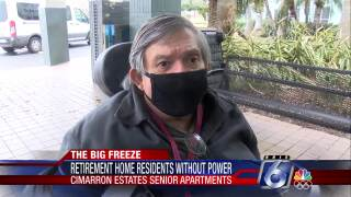 Cimmaron Estates Senior Apartments resident affected by the Big Chill