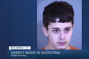 Man arrested after teen dies in shooting at Desert Sky Mall