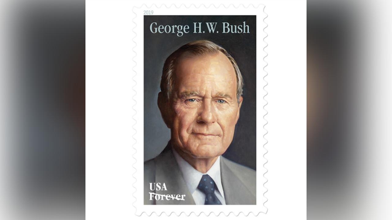US Postal Service reveals new stamp honoring President